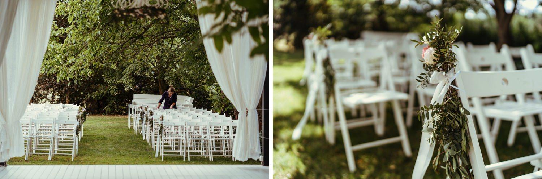 Ślub w plenerze w Białej Wstążce w Czepinie 3