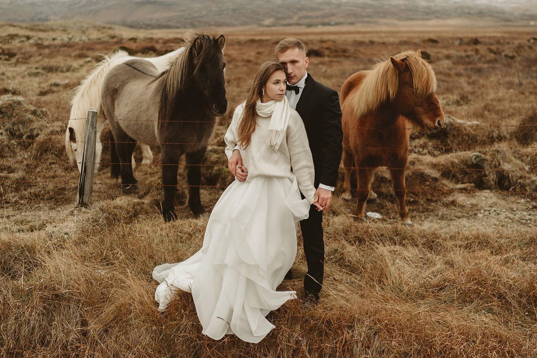 Sesja ślubna na Islandii 12