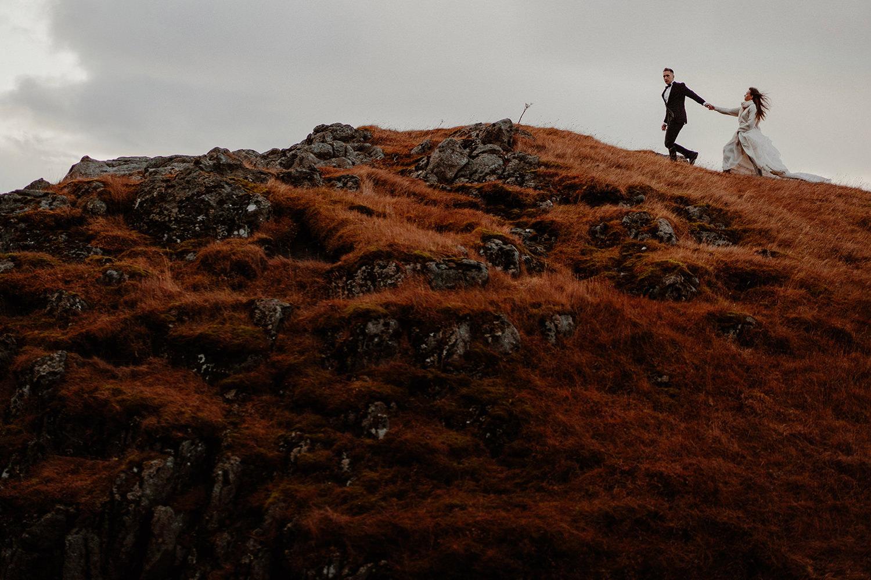 Sesja ślubna na Islandii 36