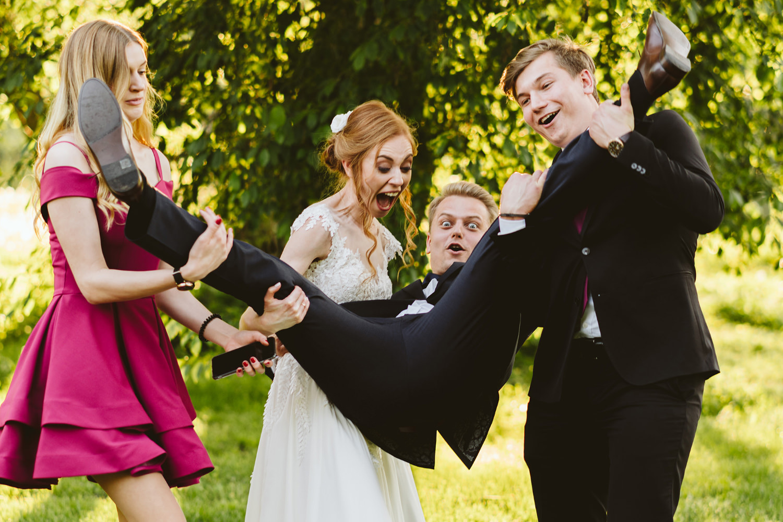 Ślub w plenerze przy lesie Martyna i Olek 42