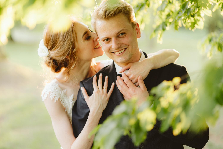 Ślub w plenerze przy lesie Martyna i Olek 51