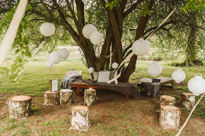 Ślub w plenerze przy lesie Martyna i Olek 5