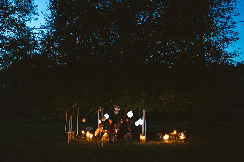Ślub w plenerze przy lesie Martyna i Olek 58