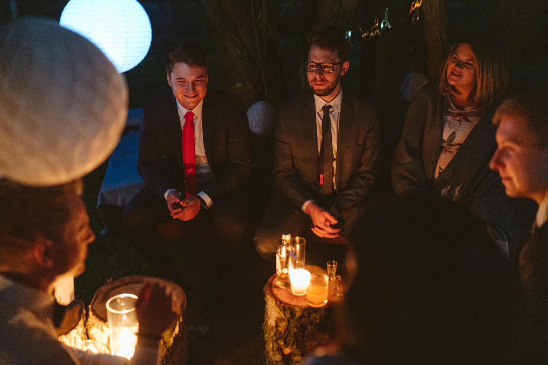 Ślub w plenerze przy lesie Martyna i Olek 59