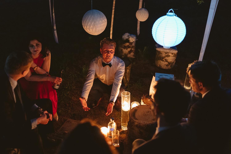 Ślub w plenerze przy lesie Martyna i Olek 60