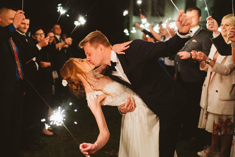 Ślub w plenerze przy lesie Martyna i Olek 61