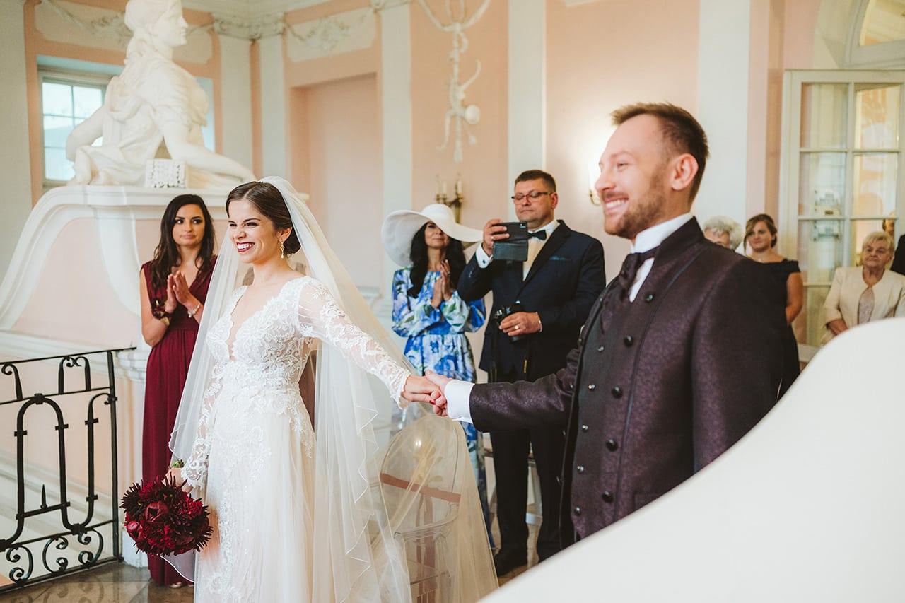 Ślub i Wesele w Zamku Rydzyna 44