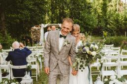 W Sam Las - Ślub i Wesele w plenerze 124