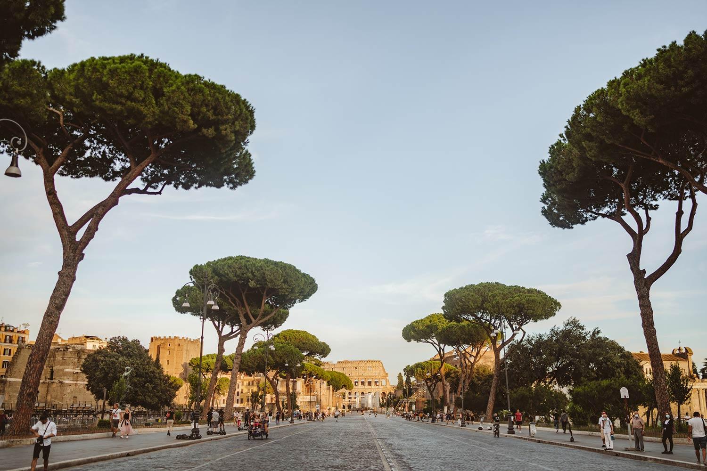 Sesja ślubna w Rzymie 1