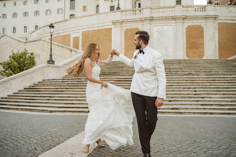 Sesja ślubna w Rzymie 10