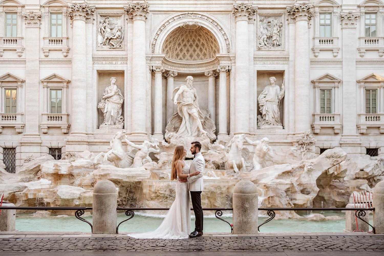 sesja ślubna w Rzymie