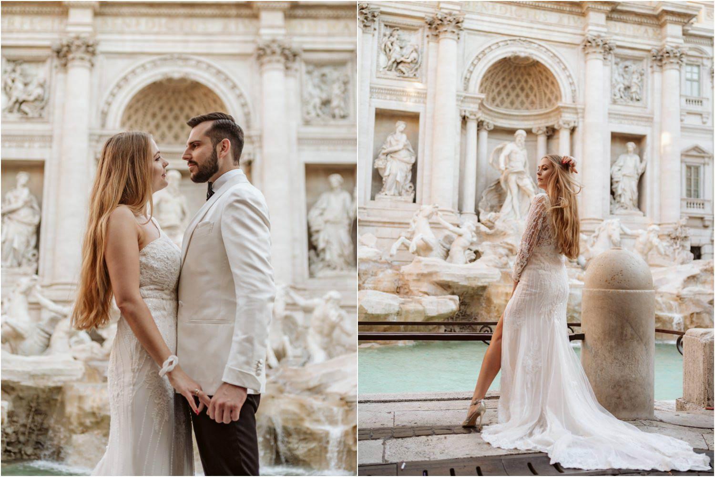 Sesja ślubna w Rzymie 11
