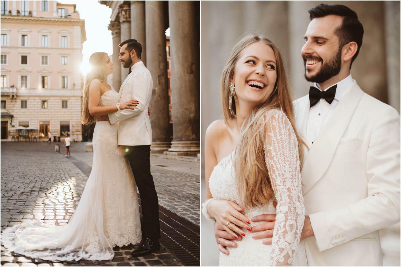Sesja ślubna w Rzymie 14