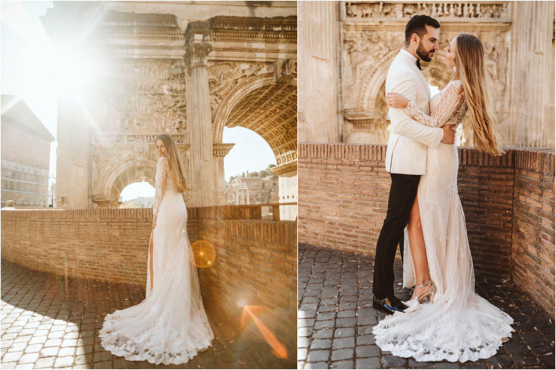 Sesja ślubna w Rzymie 18