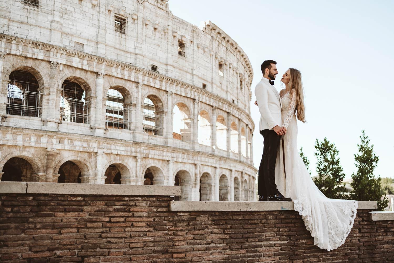 Sesja ślubna w Rzymie 20