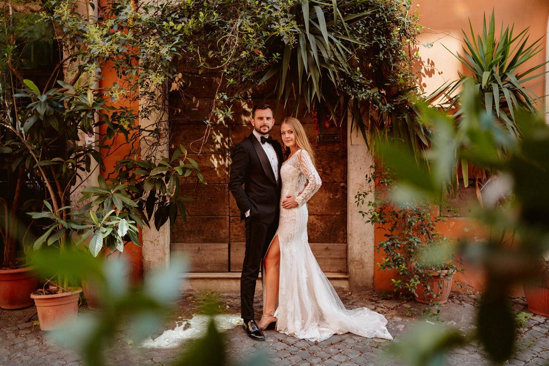 Sesja ślubna w Rzymie 23