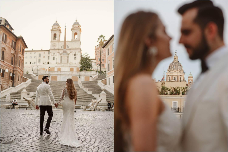 Sesja ślubna w Rzymie 3