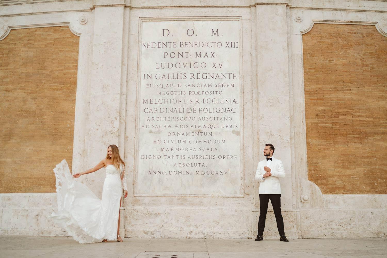 Sesja ślubna w Rzymie 5