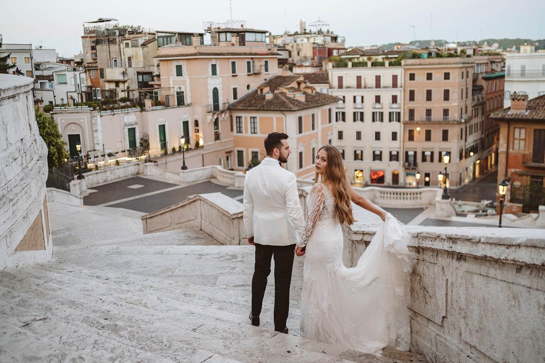 Sesja ślubna w Rzymie 8